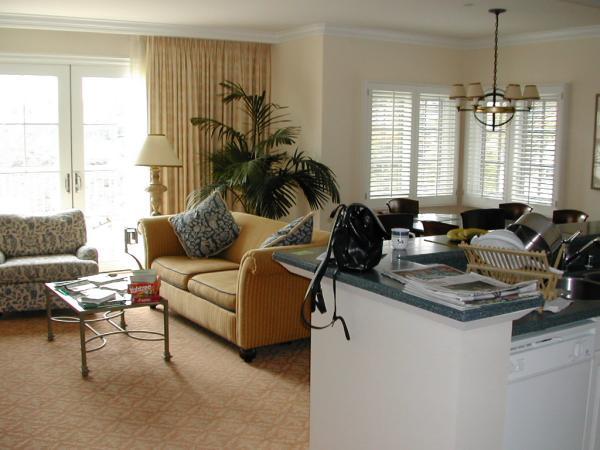 Four Seasons Residence Club Aviara Kitchen and Living Area