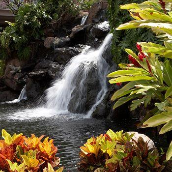 Kaanapali Beach Club Waterfall
