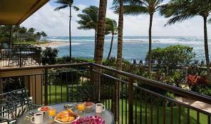 Marriott Waiohai Beach Club Balcony