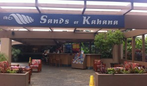 Sands of Kahana Entrance