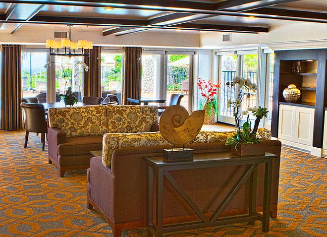 Carlsbad Inn Beach Resort Lobby