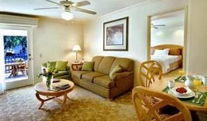 Coronado Beach Resort Living Area