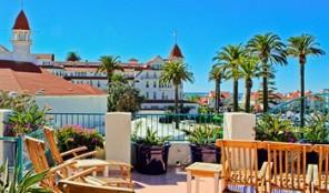 Coronado Beach Resort Patio