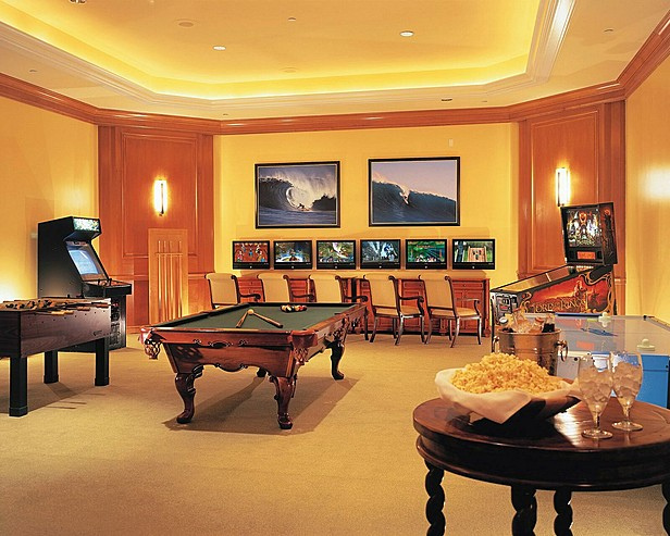 Four Seasons Residence Club Aviara Game Room