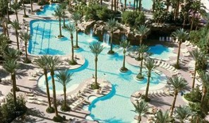 Hilton Grand Vacations Club at The Flamingo Aerial View