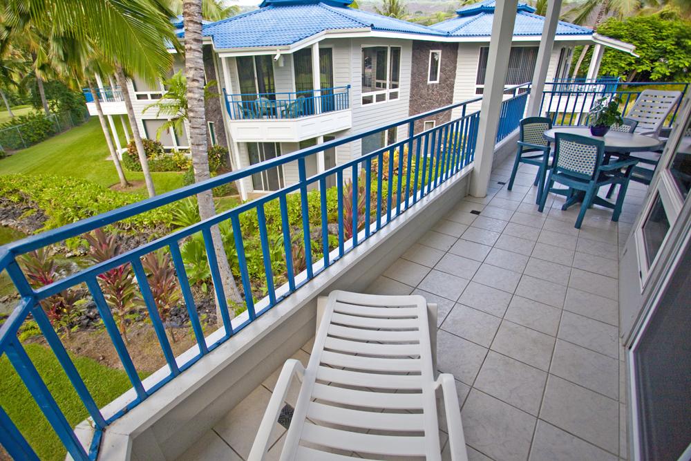 Holua Resort at Mauna Loa Village Balcony