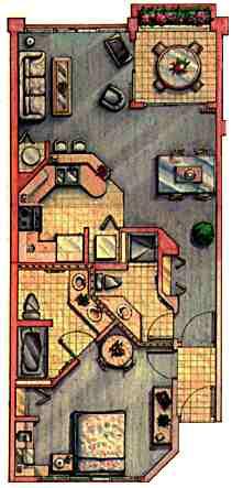 Kahana Falls Floorplan