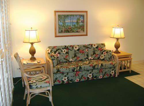Lifetime in Hawaii at The Royal Kuhio Living Area