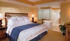 Marriott Cypress Harbour Master Bedroom