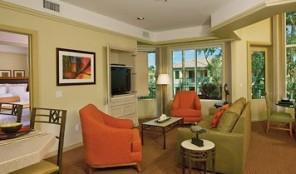 Marriott Desert Springs Villas II Living Area