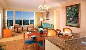 Marriott Ocean Pointe Dining and Living Areas