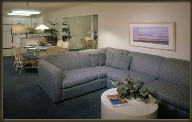 Monarch Grand Vacations Riviera Beach and Spa Resort Living and Dining Areas