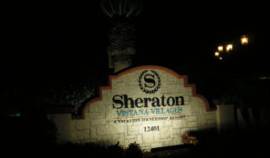 Sheraton Vistana Villages in Florida Sign