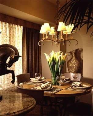Suites at Polo Towers Dining Area