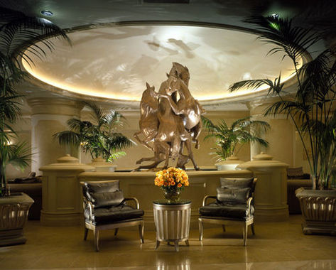 Suites at Polo Towers Lobby