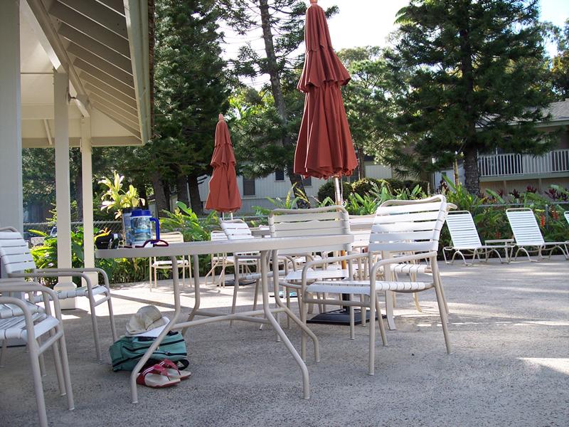 Wyndham Makai Club Patio