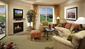 Marriott Shadow Ridge Living Area