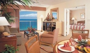 Kaanapali Beach Club Living area