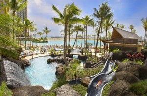 Paradise Pool at The Grand Waikikian at Hilton Hawaiian Village