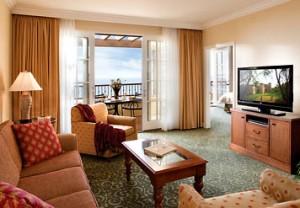 Marriotts Newport Coast Villas Living Room