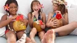 Kids enjoying Four Seasons Activities