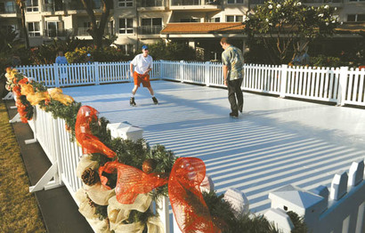 Ice Skating on Maui at Westin Kaanapali Ocean Resort Villas