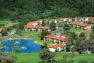 Lawrence Welk Resort Villas Aerial View