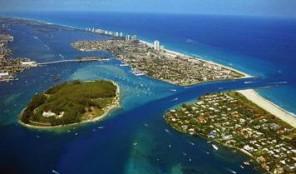 Marriott Oceana Palms Aerial View