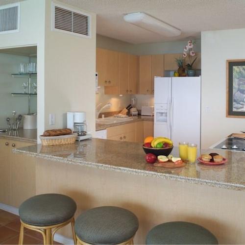 Kahana Beach Vacation Club Kitchen