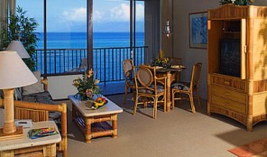 Kahana Beach Vacation Club Living Area