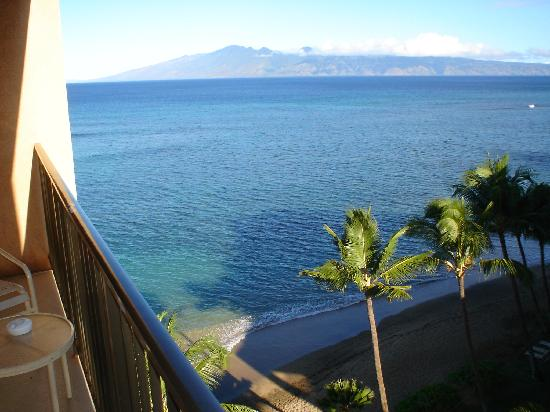 Kahana Beach Vacation Club View