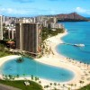 Hilton Grand Vacations at Hilton Hawaiian Village Aerial