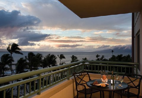 Marriott Maui Ocean Club Balcony