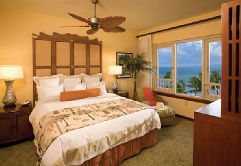 Marriott Maui Ocean Club Master Bedroom 2