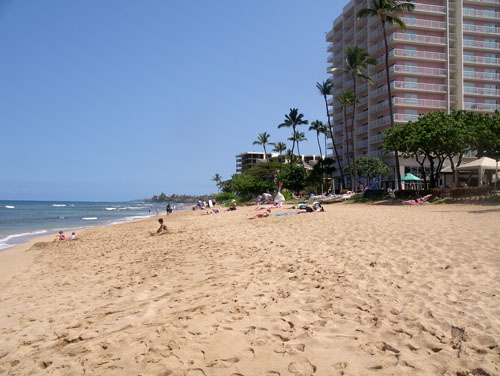 Kaanapali Beach Club Beach