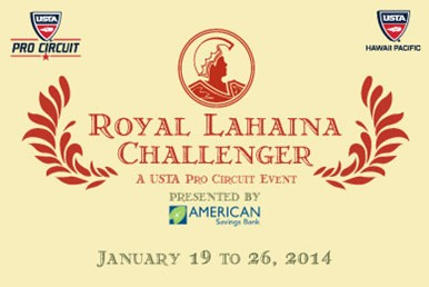 Royal Lahaina Challenger 2014 USTA Event Seeks Volunteers