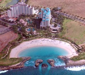Marriott Ko Olina Beach Club Aerial View