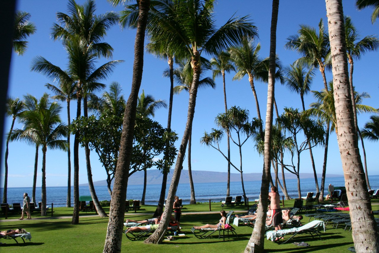 Marriott Maui Ocean Club Beach Island View