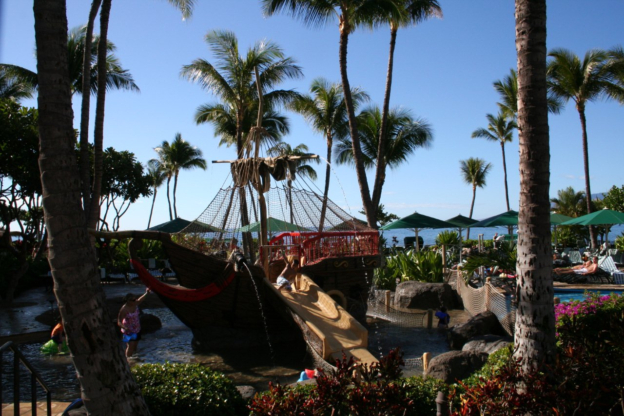 Marriott Maui Ocean Club Pirate Ship
