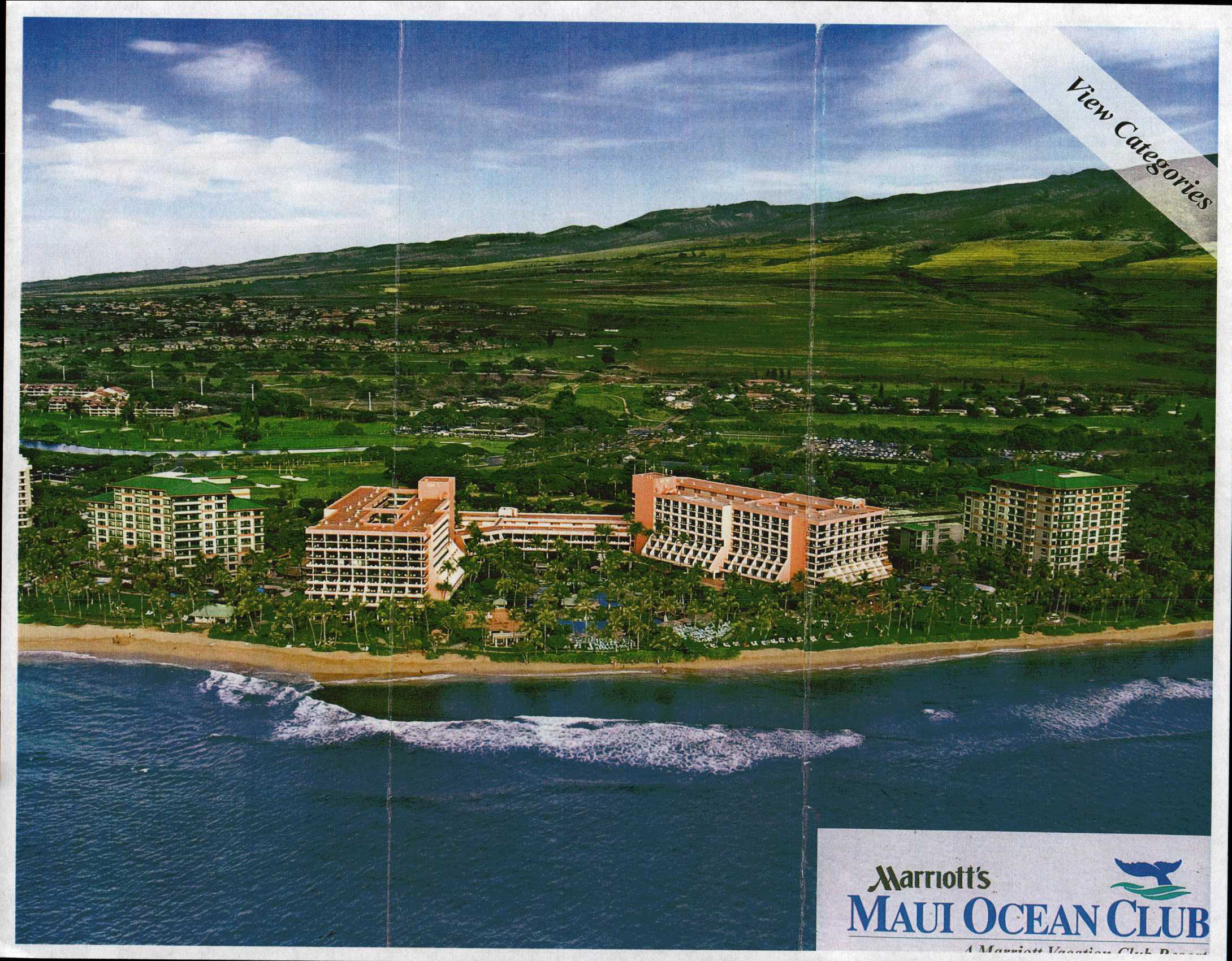 Marriott Maui Ocean Club Property Map