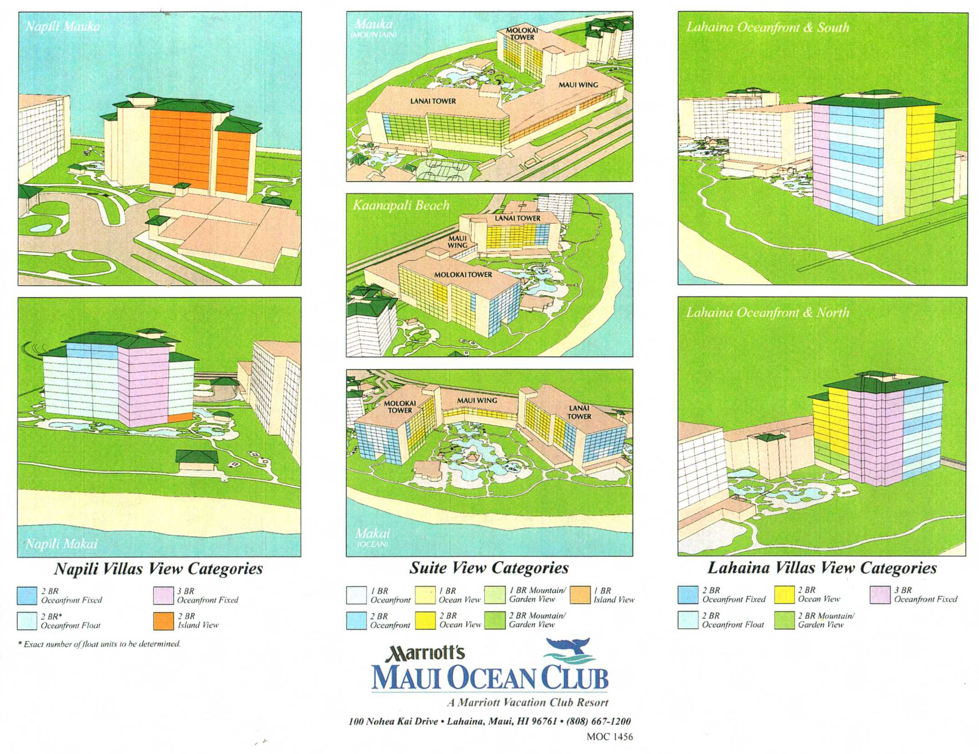 Marriott Maui Ocean Club View Categories