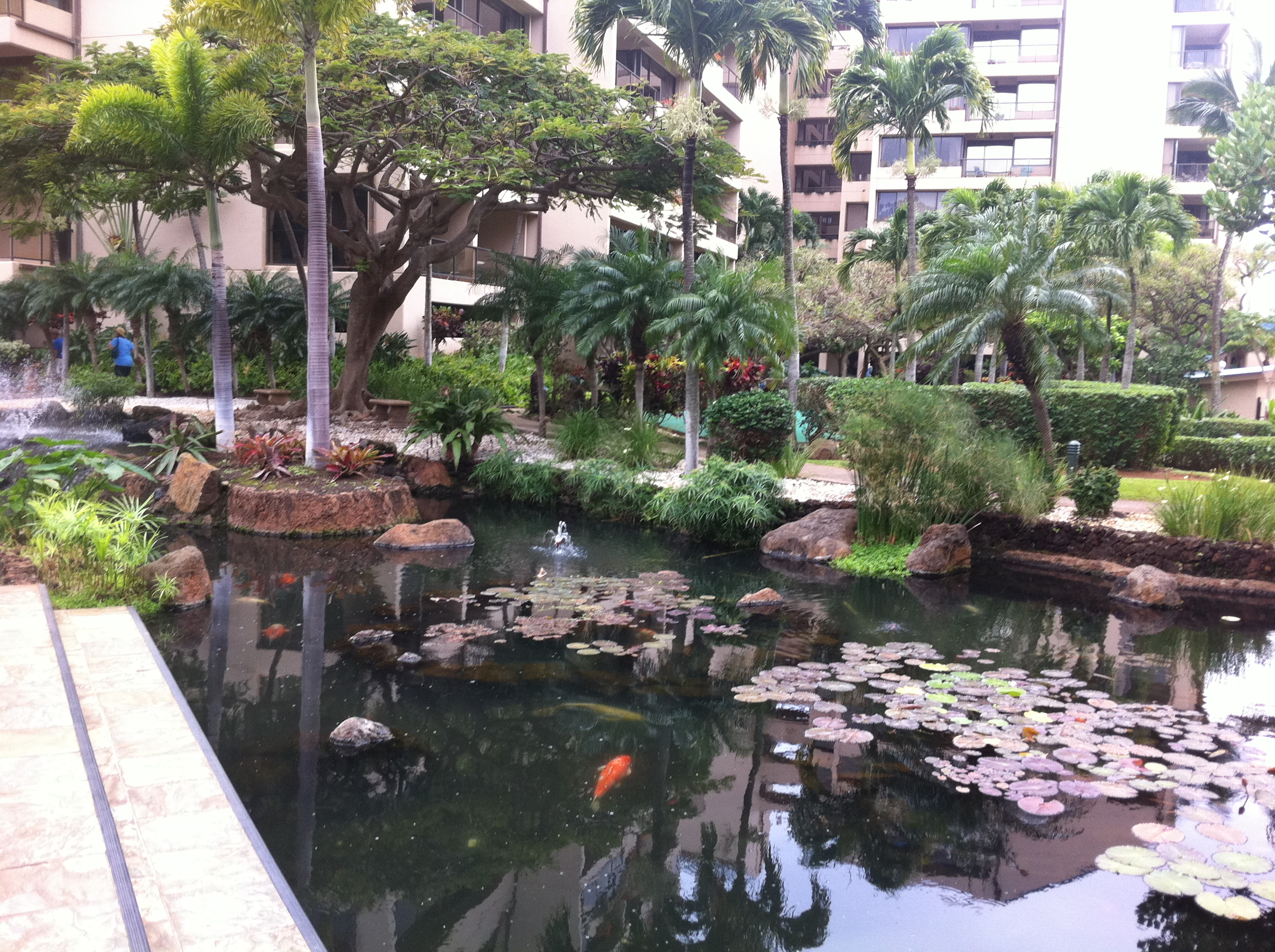 Sands of kahana vacation club advantage vacation for Koi pool villa