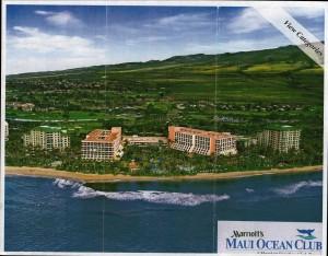 Marriott Maui Ocean Club Property Map