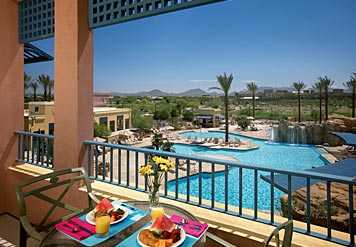 Marriott Canyon Villas at Desert Ridge Balcony