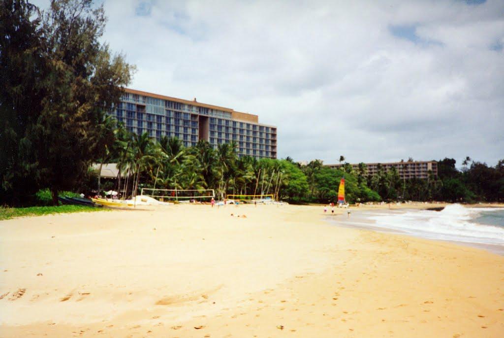 Marriott Kauai Beach Club Beach