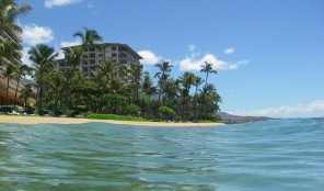 Marriott Maui Ocean Club from Water