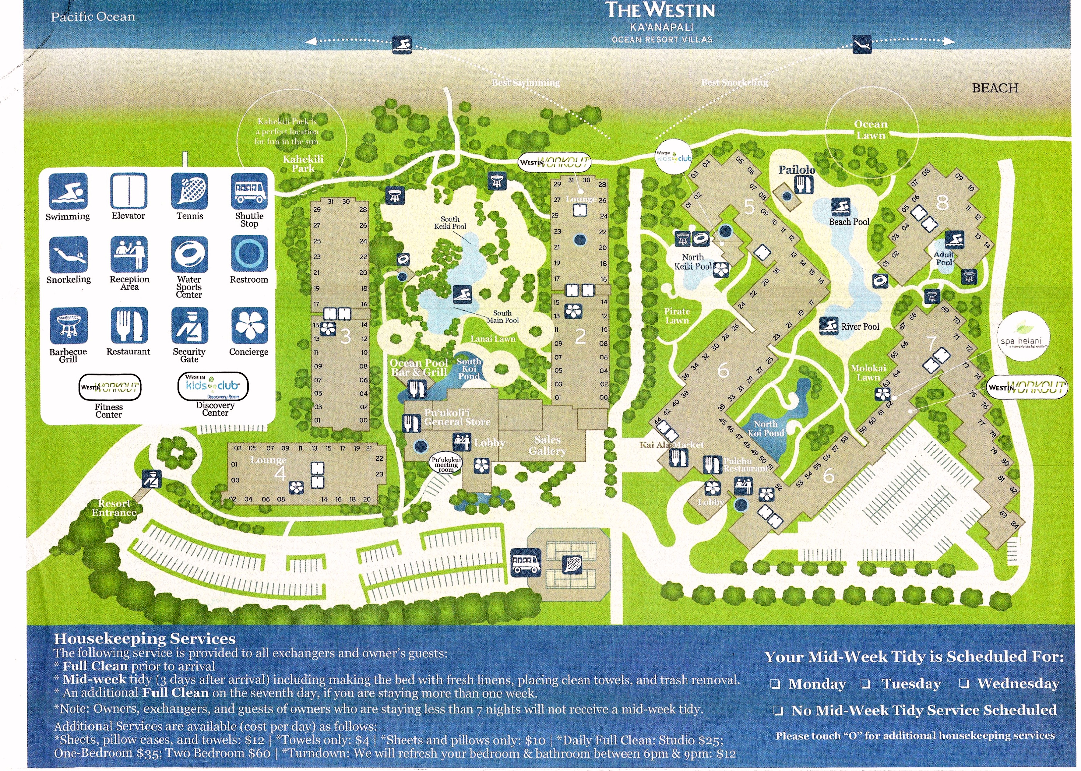 Westin Kaanapali Ocean Resort Villas Advantage Vacation