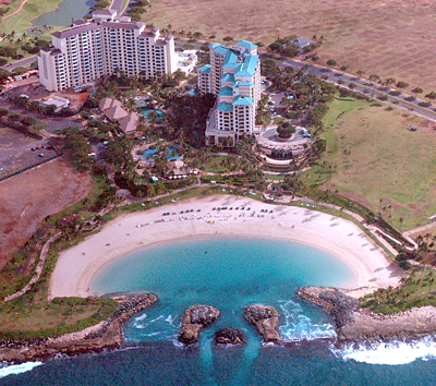 Marriott KoOlina Beach Club Aerial View