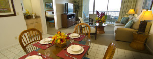 The Point at Poipu Living and Dining Areas