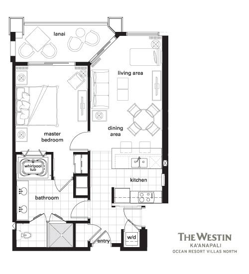 Westin Kaanapali Ocean Resort Villas North  Bedroom Premium Villa
